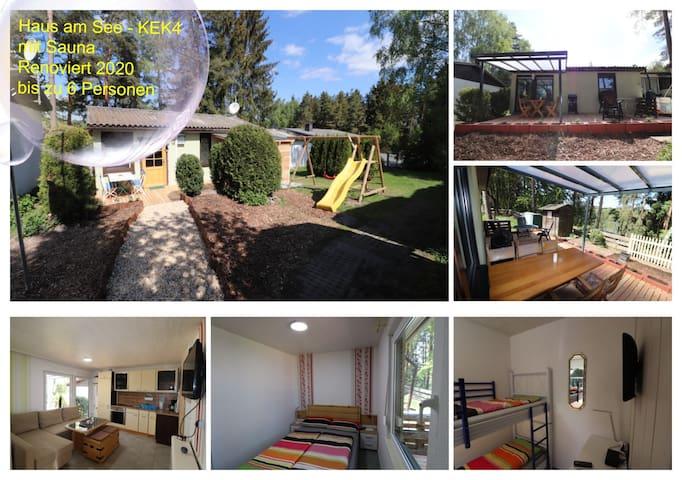 Haus am See mit Sauna - Renoviert 2020 - KEK4