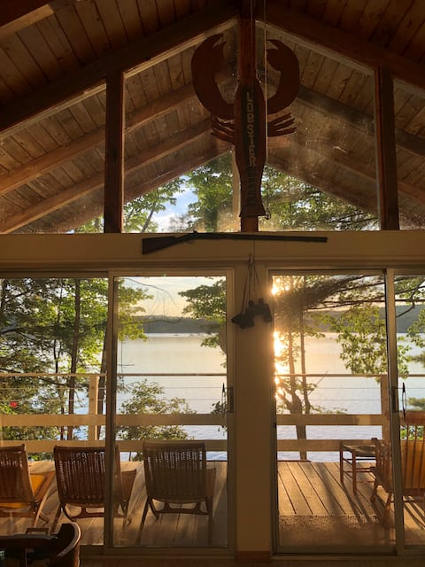 Southern NH, lakefront  cabin.