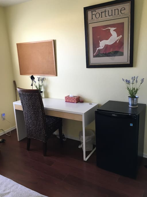 Your Bedroom Desk