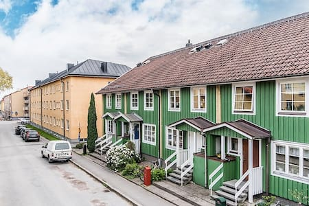 Modern furnished basement in the city of Nyköping