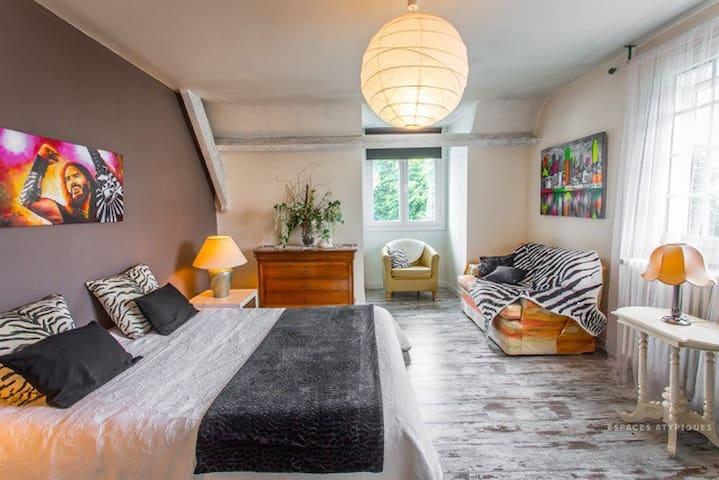chambre Lierre chez Bärbel