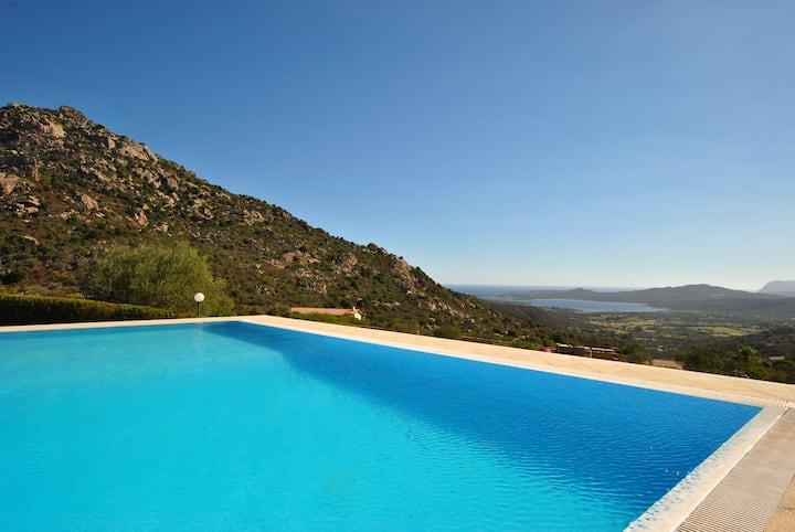 VILLA BOUGANVILLAE piscina con acqua riscaldata