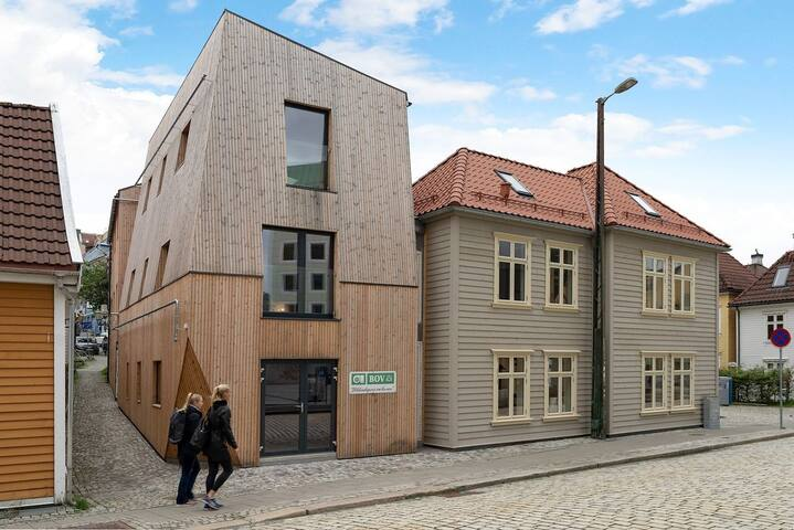 New, modern apartment in the heart of Bergen.