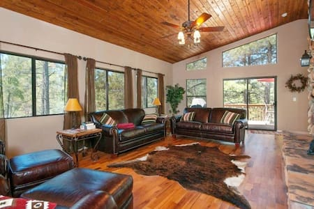 Large Upscale Munds Park Cabin With Everything! - Munds Park - Cabana