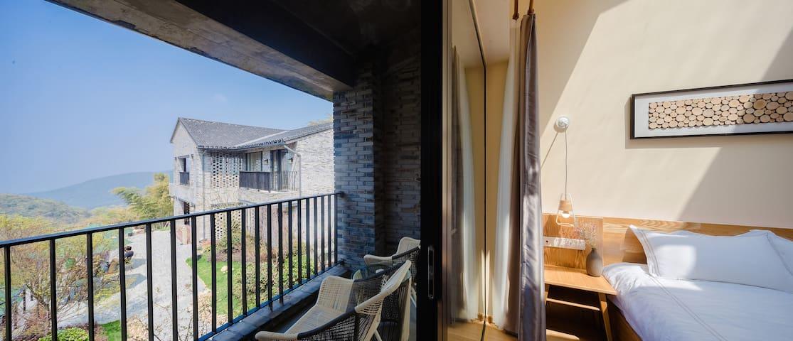 莫干山原界见山禅野主题民宿-loft小套房 46平方米 莫干山风景区可接机