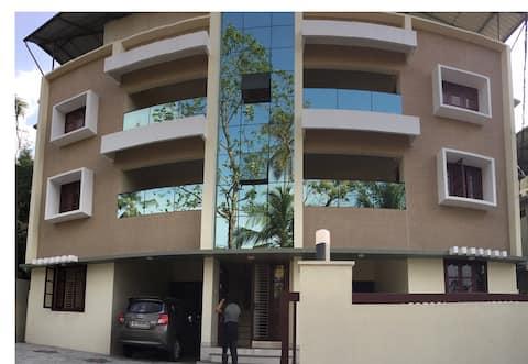 Athrakkattu Enclave Executive Studio Apt AC  for 2