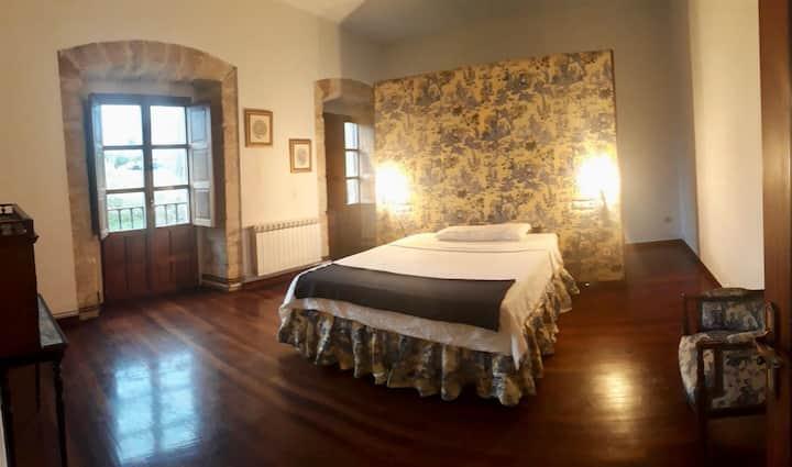 Habitación en una casa con vistas en Cantabria.