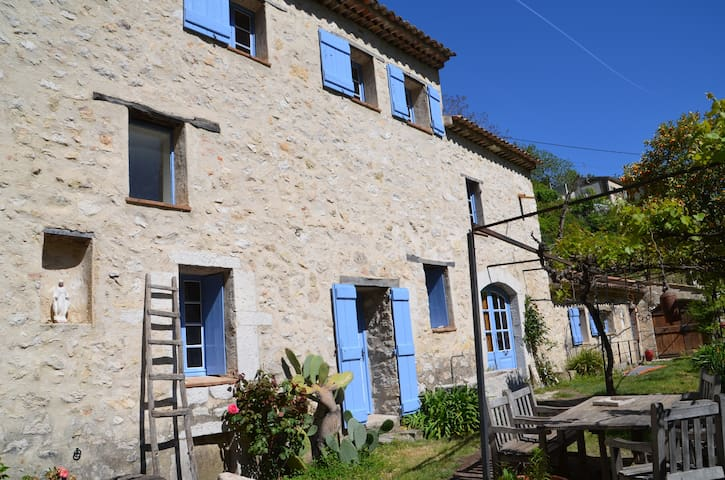 Authentic olive oil mill near Nice - Saint-Jeannet - บ้าน