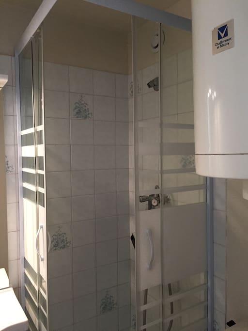 cabinet de douche