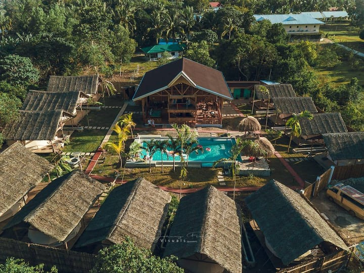 Eco Friendly Resort on a unique enviroment.