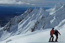 Whakapapa Ski Field 15 minutes away