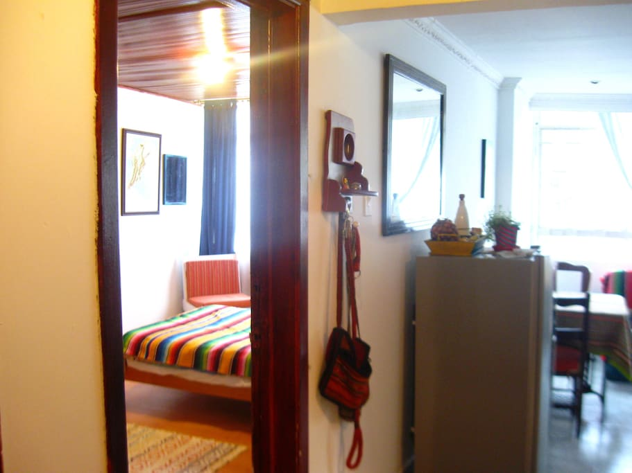 apartamento acogedor y cerca a los sitios de interés en el centro
