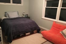 bedroom available on second floor