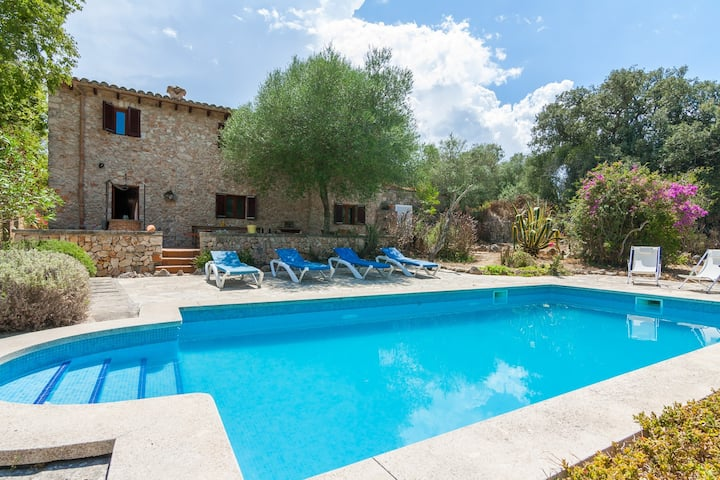 Beautiful rustic finca in a lovely environment