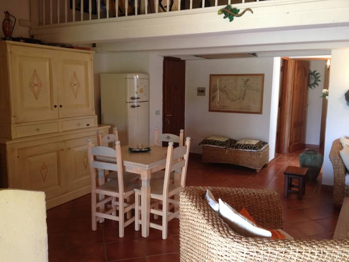 Isuledda N. 61 beautiful townhouse with 2 bedrooms and a loft , 150 metres from the sea