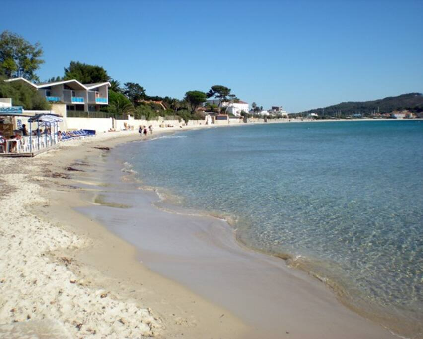 Les Sablettes, plage, restos, brasseries...