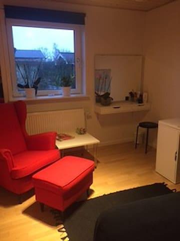 Pendler værelse centralt i Støvring v/Aalborg - Støvring