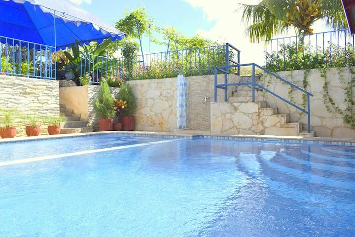Villa Coco 4 - Habitación privada con cocina.