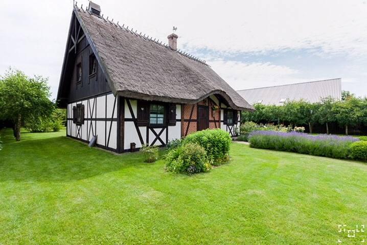 Haus in Gaski/Mielno ,  Strand 150 M Ostsee