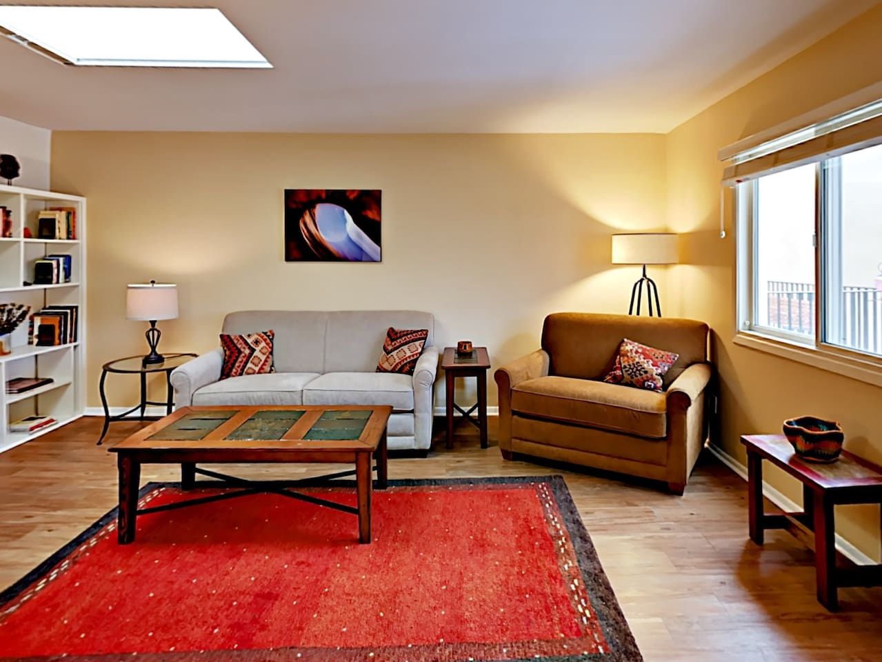 Welcome to Santa Fe, NM! Your rental is professionally managed by TurnKey Vacation Rentals.