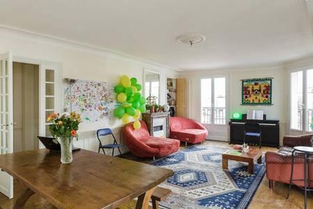 Appartement de 150m2 au centre de Paris,le Marais - Paris - Apartment