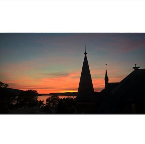 Central apartment with a seaview! - Bergen - Daire