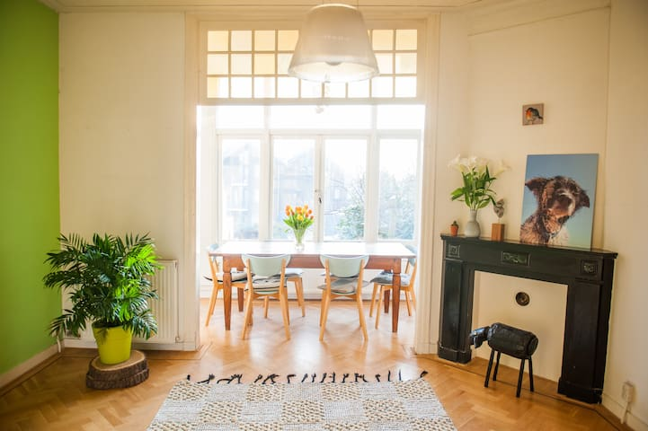 Spacious, cozy house in the citycentre of Haarlem - Haarlem - Flat