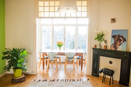 Spacious, cozy house in the citycentre of Haarlem - Haarlem - Lejlighed