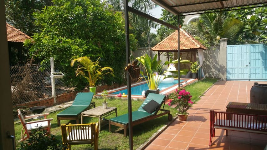 Full House in District 2 with Small Pool - Ho Chi Minh City - House