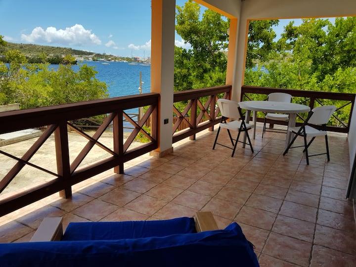 Hostal Casa Culebra Villa 2 (bay front, boat slip)