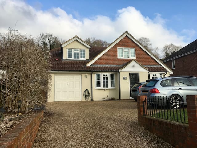 ** Family home in Cuxton, a countryside retreat**