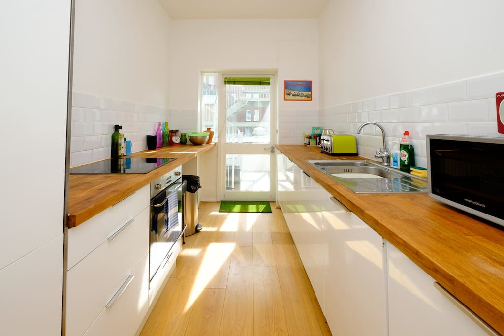 Fully equipped kitchen - help yourself and make dinner