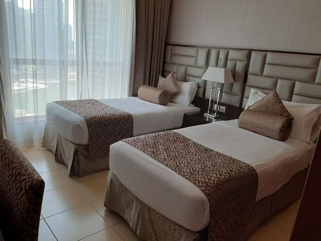 clean charming room in 5 star hotel (only ladies)