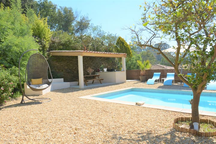 Maison piscine 200m plage - Rayol-Canadel-sur-Mer - House