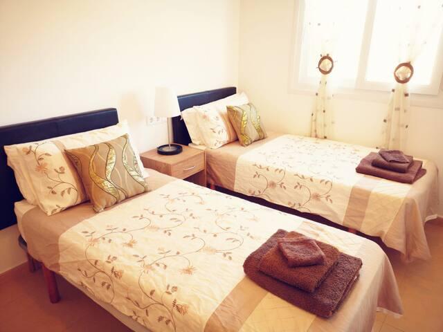 2 Bedroom first floor apartment on Condado