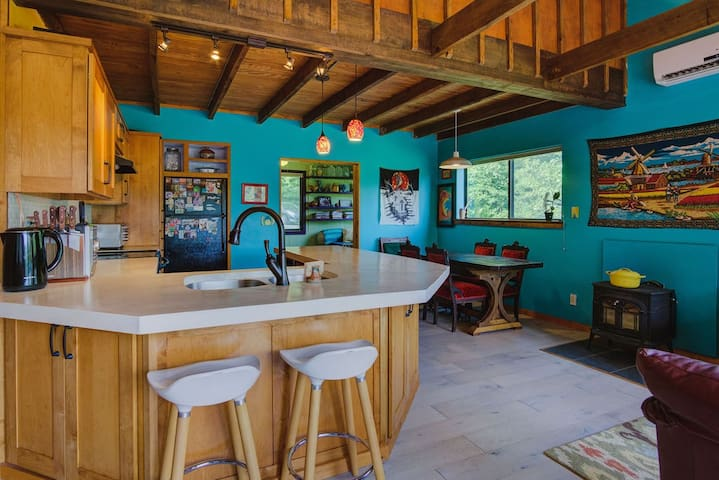 Artist's House /Big Views & Yard /Newly Renovated
