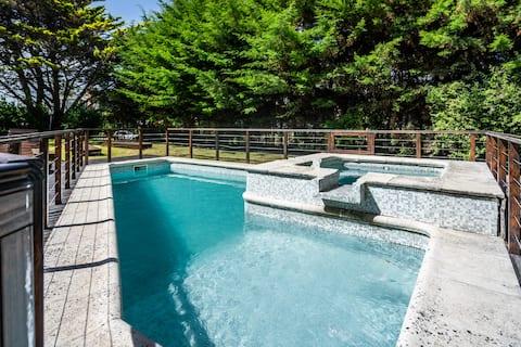 Taube - Schöne Wohnung mit Pool