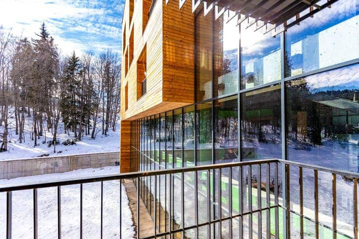 ❄Studio Apt. Near Rooms Hotel in The Hills of Bakuriani ❄