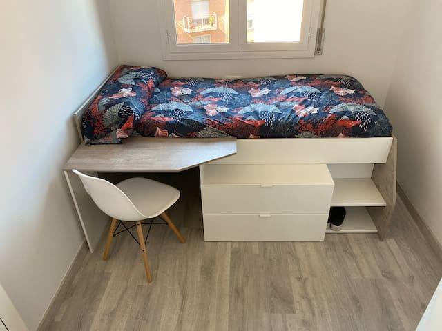 Acogedora habitación en el Carmel