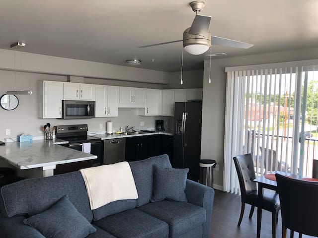 Brand new Contemporary 2 bedroom near downtown IC