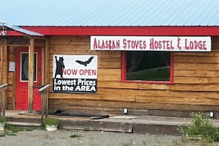 Alaskan Stoves Hostel: Room 3-shared/Bed B - Tok - Hostel