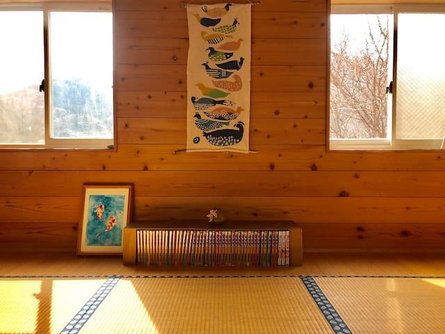 大自然に囲まれた伊勢神宮・内宮裏山の別荘地の一軒家 - Ise-shi - 獨棟