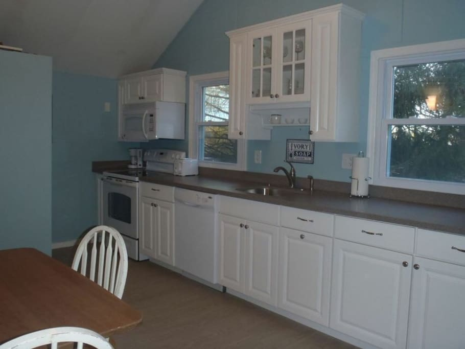 Fully renovated kitchen with dishwasher