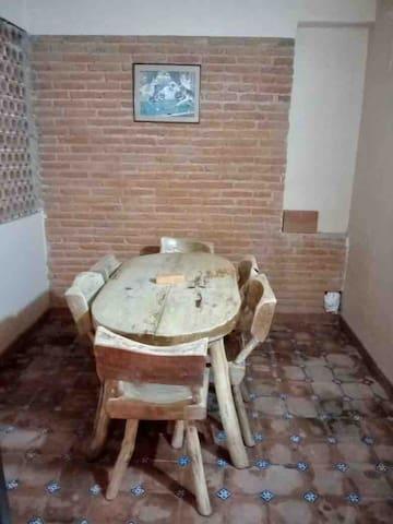 Terraza de la habitación principal