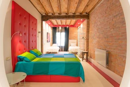Comfortable apartment in Bilbao (wifi incl)EBI0051 - Bilbao - Daire