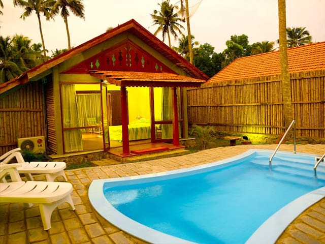 Private Pool Villa at Kumarakom