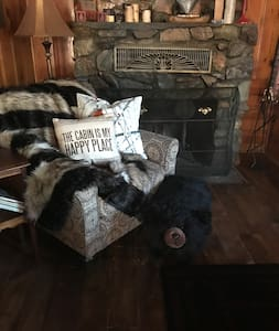 Rustic, remodeled cabin within 2 blks to Bear mtn!
