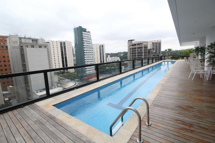 Rooftop Heated Swimming Pool