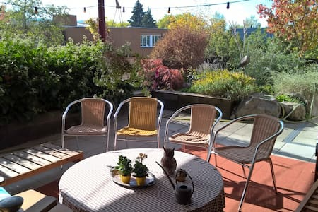 Penthouse flat 5 1/2 rooms,near public transports - Winterthur - Apartamento