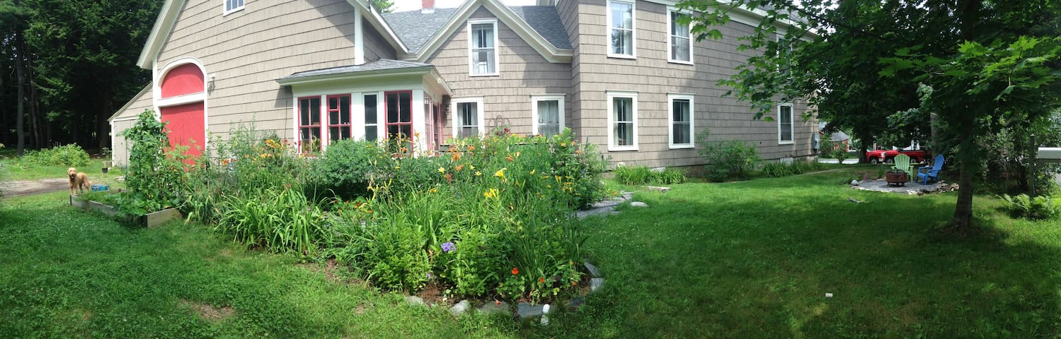 Spacious 3BR Midcoast Maine home - Brunswick - Maison